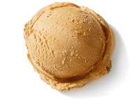 Caffé Latte Caramell-Eis direkt vom Speiseeishersteller