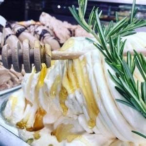 Eis für Eisdiele - Milch-Rosmarin-Honig
