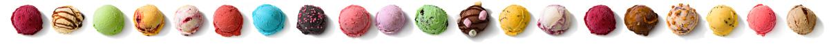 Eiskugeln Eis Engelchen Speiseeis Lieferant