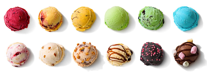 Die besten Eissorten durch Eigenkreationen